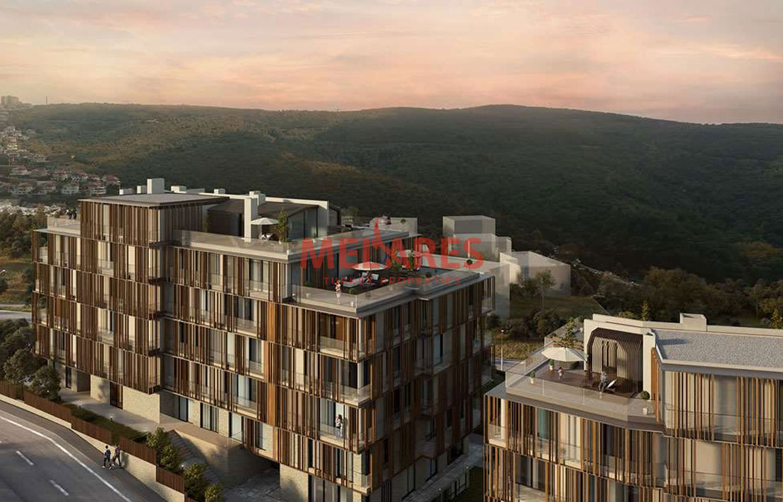 Property for Sale in Istanbul Beykoz with View of Forest