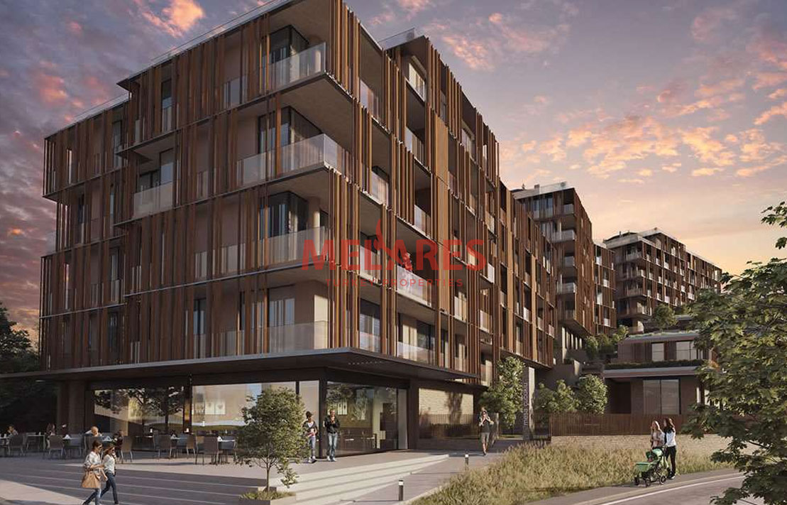 Apartment for Sale with Stunning View Of the Forest in Istanbul