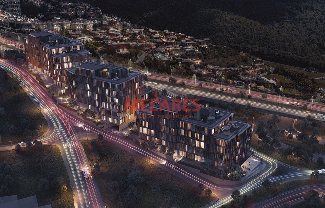 Duplex Apartment for Sale in Istanbul Beykoz