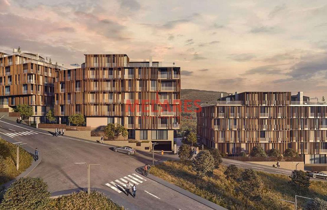 Spacious Duplex Apartment for Sale in Istanbul