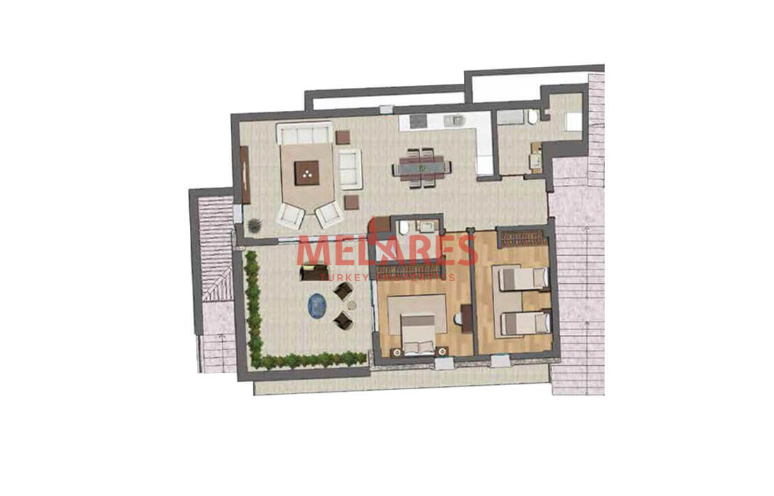 Fethiye Property Designed in the Concept of a Private Villa