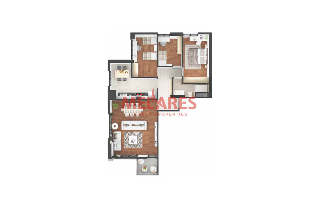 Apartments for sale in Istanbul with Flexiable Payment Terms