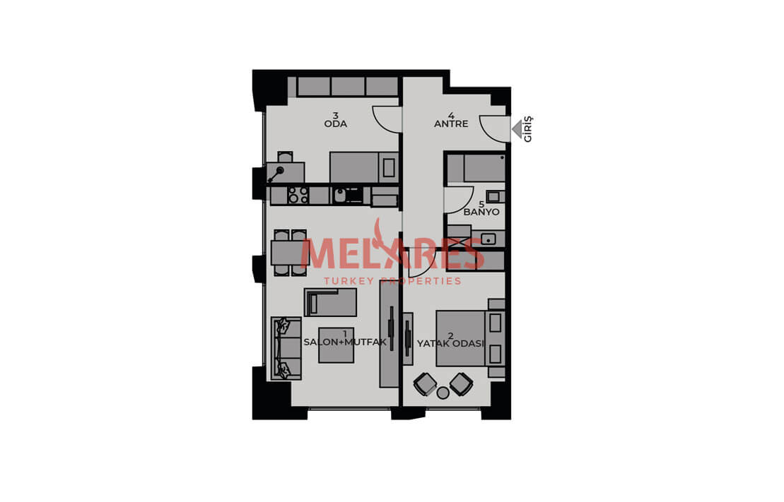 Title Deed Ready Properties for Sale in Kadikoy Istanbul