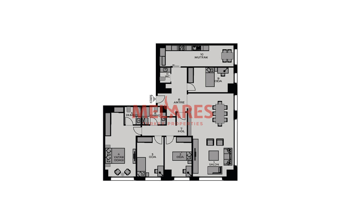 Family-oriented Modern Houses for Sale in Kadikoy Istanbul