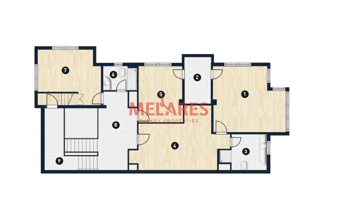 Family Villas for Sale in Beylikduzu Istanbul with Pool and Garden