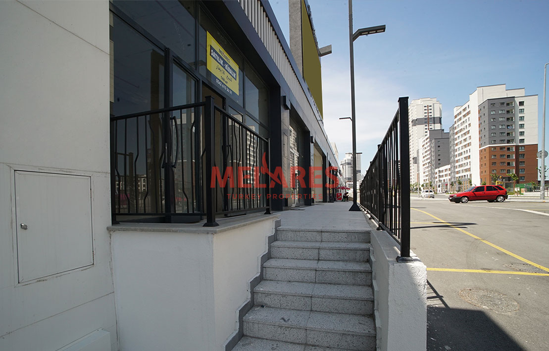 High Street Duplex Commercial Unit for Sale in Basaksehir Istanbul