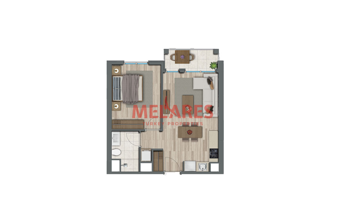 Investment Apartments for Sale on Anatolian Side of Istanbul