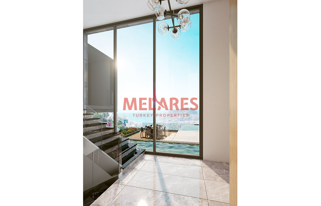 Villas for Sale in Alanya Turkey with Awesome View of Sea