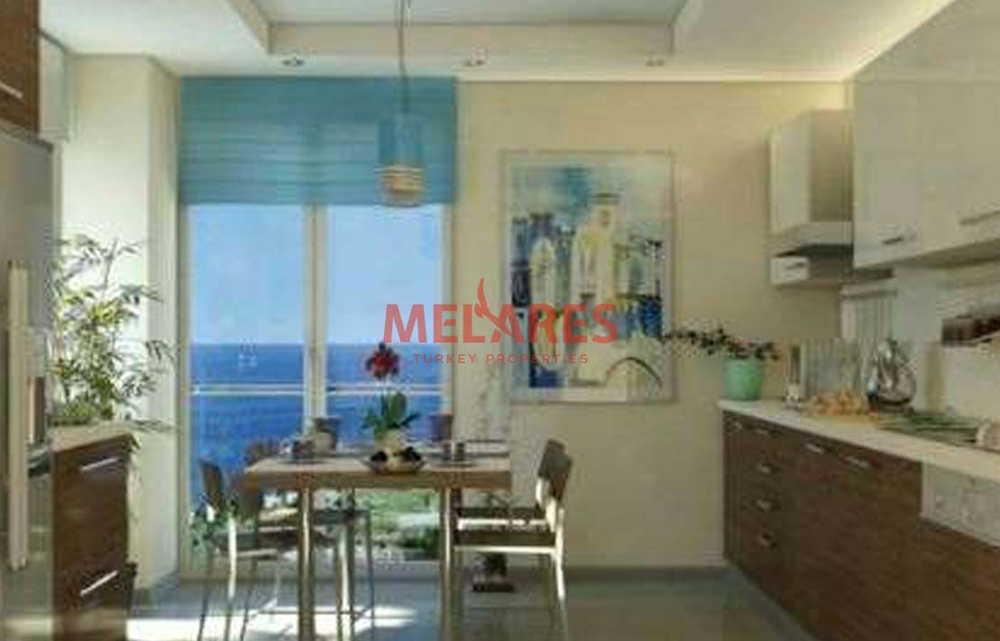 Big Apartments for Sale in Istanbul Kadikoy