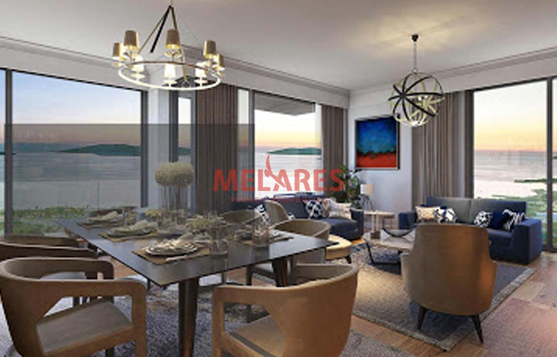 Luxury Apartments in Istanbul Kartal with Sea View