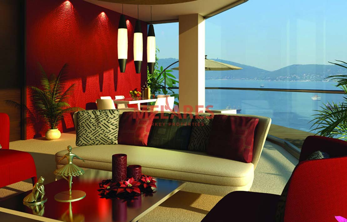 Luxury Apartments in Istanbul with Beautiful Sea View