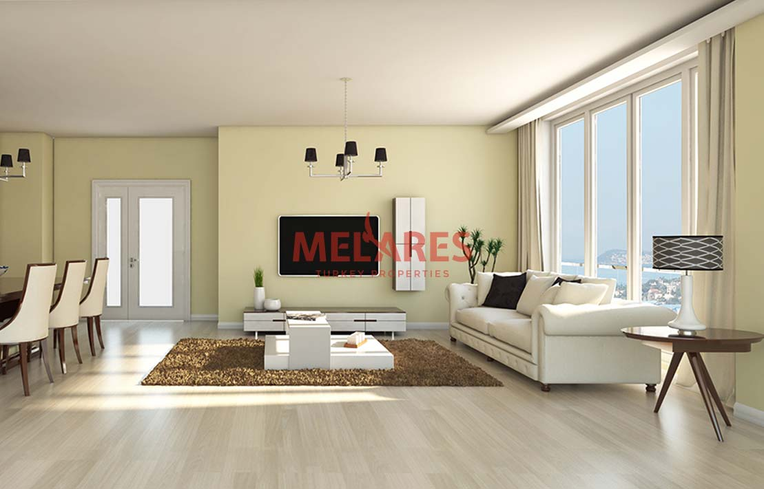 Central Apartments for Sale in Istanbul in Asian Side